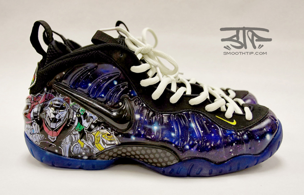 "pretty nice 42f4a 90d7f NIKE AIR FOAMPOSITE PRO ""VOLTRON"" CUSTOM"